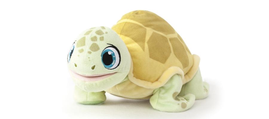 Da kommt die zuckersüße Schildkröte!