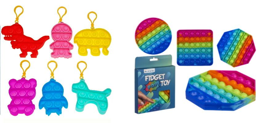 Fidget Toy zum Drücken und Knallgeräuschen