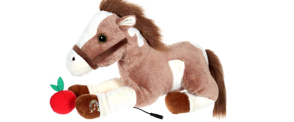 süßes Pferd mit Musik